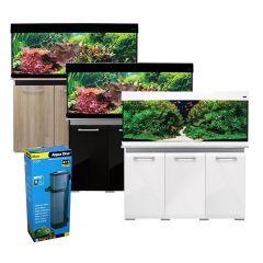 Aqua One AquaVogue 245L Aquarium and Cabinet with Internal Filter and Heater