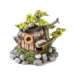 barrelhouse aquarium ornament