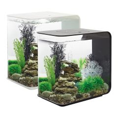 BiOrb, flow aquarium, black, white, clear