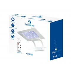 blue marine nano led 11w in box
