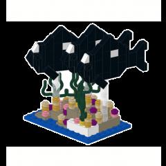 domino damsels, triples reefscape, lego.
