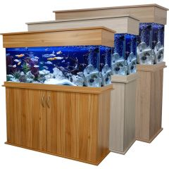 oak cabinet, elite, aquarium
