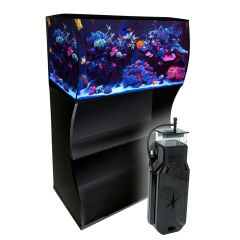 Fluval Flex 123 Litre LED Bluetooth Marine Aquarium and Cabinet Set