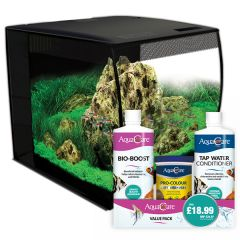 Fishkeeper Fry Fluval Flex 34 Black