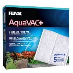 aquavac plus single use filter pack packaging