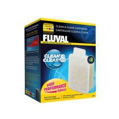 clean and clear cartridge by fluval 2 pack
