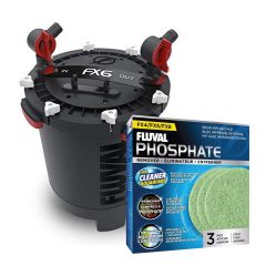 Fluval FX6 High Performance Canister Filter with Free Phosphate Media