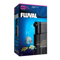 mini Fluval aquarium filter.
