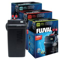 fluval 206 206 406 external canister filters in boxes with aquastop
