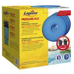 Laguna Pressure-Flo Replacement Foam Sets