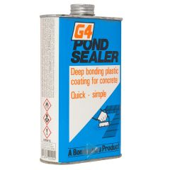 Pond Sealer, for concrete ponds.