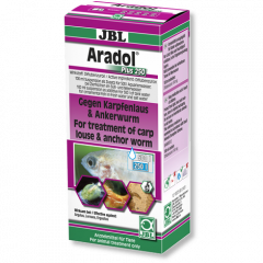 Box of Aradol treatment from JBL.