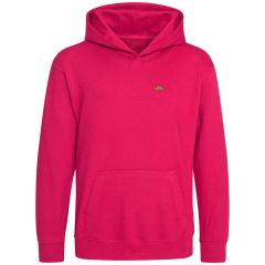 Clownfish Clothing - Kids Hooded Sweatshirt (Coral Pink)