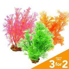 Classic Plastic Aquarium Plants (Medium)