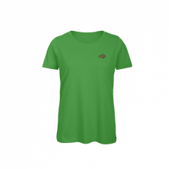 ladies, t-shirt, green