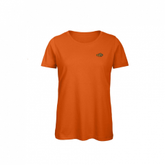 ladies, orange, t-shirt
