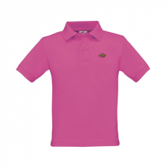kids, polo shirt, pink