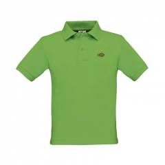 Clownfish Clothing Kids Polo Shirt Lily Green