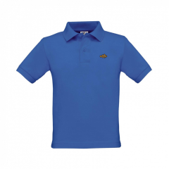 polo shirt, kids, blue