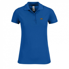 ladies, polo shirt, blue
