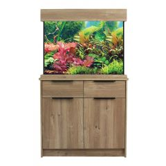 AquaOne OakStyle Home 145 Litre Aquarium and Cabinet