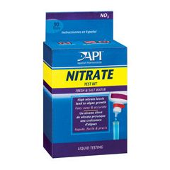 Nitrate test kit, box.