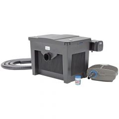 biosmart filter pump and pipe kit with uvc and biokick