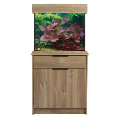 AquaOne OakStyle Home 110 Litre Aquarium and Cabinet