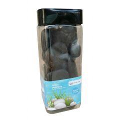 Aqua Range 'Aqua-Substrate' Polished Pebbles - Black