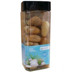 Aqua Range 'Aqua-Substrate' Polished Pebbles - Amber