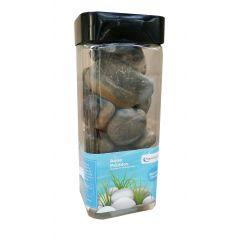 Aqua Range Aqua-Substrate Polished Pebbles - Terracotta