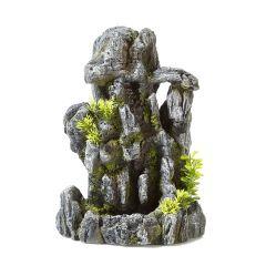 Rock foundation- aquarium ornament.