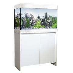 Fluval Roma 125 Litre Bluetooth LED White Aquarium and Cabinet Set