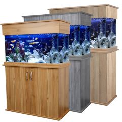 Aquarium, Elite, Wooden cabinet
