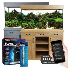Fluval Shaker Style 252L Tropical Aquarium and Cabinet Set