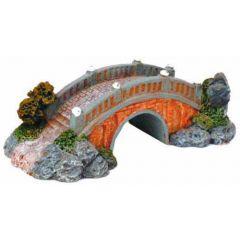 Small bridge aquarium ornament.