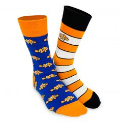 Clownfish Patterned Socks