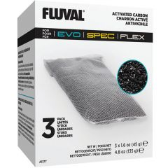 3 pack of replacement activated carbon. Fluval.