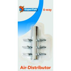 Superfish 6 way stainless steel air distributor