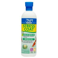 API Pond Stress Coat Tap Water Conditioner and Fish Coating Protector