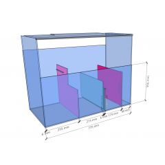 Aqua Marin Pro Glass Aquarium Sump