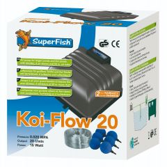 koi-air flow in box size 20