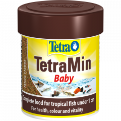 Tetra Min Baby- Complete Micro Flake Food for Fry