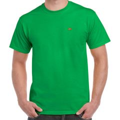 mens, t-shirt, green
