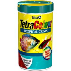 tetra colour, food, crisps