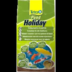 bag of tetra pond holiday food.