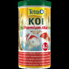 tub of Koi premium food pellets
