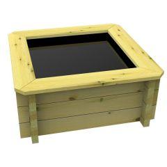 wooden fish pond- square: Garden Timber Company
