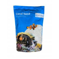 coral sand for aquarium.