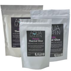 aqua marin thermal glue purple for aquariums sachet